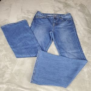 AMERICAN RAG Medium Wash Flare Jeans